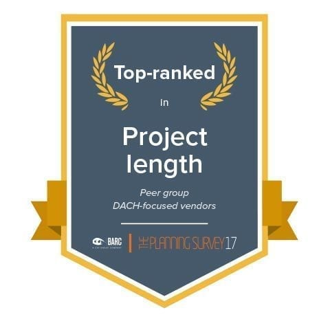 barc top ranked project length compressed
